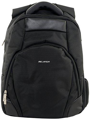 Melianda MA-17400 Business Rugzak voor laptop/tablet tot 17 inch, 44 cm, 15 L, zwart
