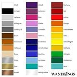"""Wandkings Wandtattoo """"Leuchtturm und 10 Seesterne im Set"""" Größe SMALL in violett – erhältlich in 33 Farben - 4"""