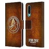 Head Case Designs Officiel Star Trek Discovery Starfleet en Look Affligé Insignes Coque en Cuir à...