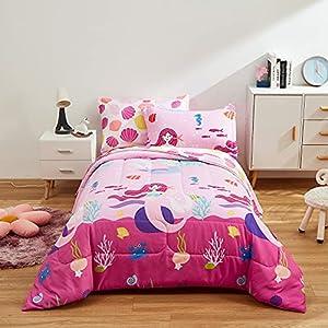 51ziDmSkLhL._SS300_ Mermaid Bedding Sets & Comforter Sets