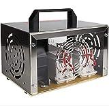 WQSFD 220V Ozono Generador Portátil 35000Mg / H,Purificador De Aire con Caja De Acero Inoxidable, De Habitaciones, Humo, Coches Y Mascotas Aire Ionizadores Desodorante del Esterilizador