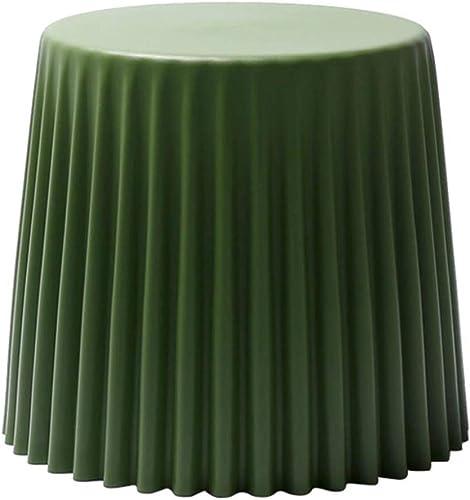 al precio mas bajo RFJJ Taburete de Baja Calidad para para para el hogar Taburete, Taburete de Almacenamiento Multifuncional El Taburete de plástico Simple Puede superponerse, 37.5  47  41CM (Color   verde)  precio mas barato