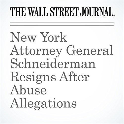 New York Attorney General Schneiderman Resigns After Abuse Allegations copertina