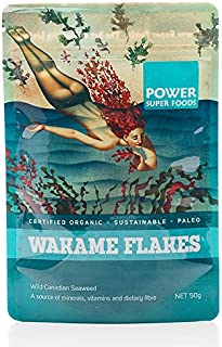 Power Super Foods Organic Wakame Flakes 50 g