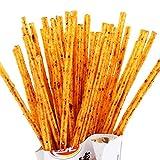2 Pack Weilong Latiao, Mala Xiangla xiaolabang 卫龙 辣条 卫龙辣条 小辣棒 香辣 麻辣 Chinese Special Snack Food: Wei Long Series Spicy Gluten (50g5packs)