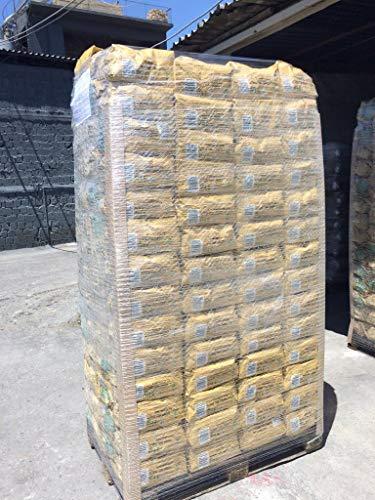 OlioBric Eine Palette Grillbriketts aus Oliventrester, Zertifiziert, nachhaltig, vom NABU empfohlen