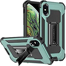 ELLYNOV Shockproof Waterproof Case Compatible with iPhone Xs Max 6.5