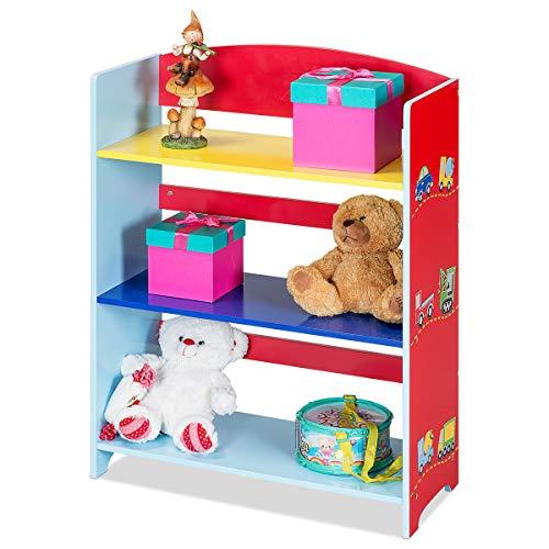 CRIZTA 4pcs Invisible Floating Bookshelf, Heavy Duty Wall Mounted Book Organizer, Metal Shelves Holder for Books, Large Size (White)