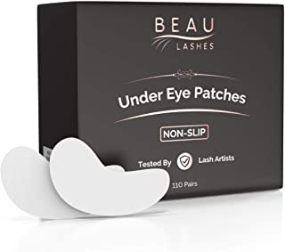 100 Pairs Under Eye Pads for Lash Extensions - Lint Free Hydrogel Eye Patches with Vitamin C & Moisturizing Aloe Vera For Eyelash Extension & Lash Lift - Professional Esthetician Gel Undereye Eyepads