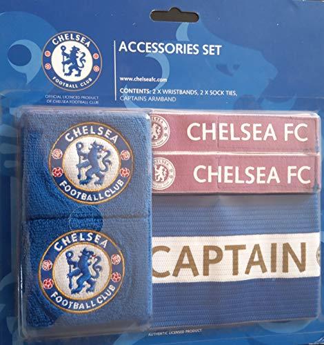 Chelsea F.C. Lot d'accessoires de Football pour Enfant