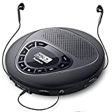 Portable CD Player with Speakers, Rechargeable CD...