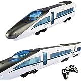 2.4GHz 1:14シティレール地下鉄列車モデル、RC高速鉄道列車/地下鉄EMUモデル、旅客列車建設子供機関車コレクション