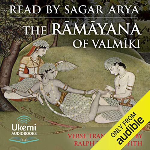 The Rāmāyana of Valmīki cover art
