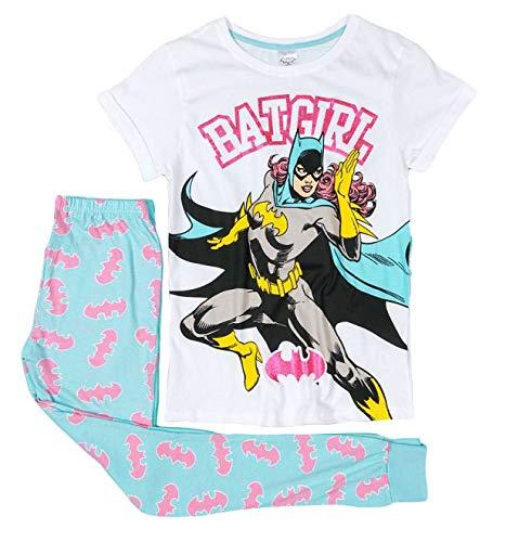 Conjuntos de pijama de manga corta con licencia oficial Azul Batgirl 48/50 ES