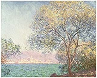Bruce McGaw Graphics Morning at Antibes, 1888 by Claude Monet, Art Print Poster 14