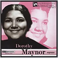 Dorothy Maynor in Concert at the Library of Congre