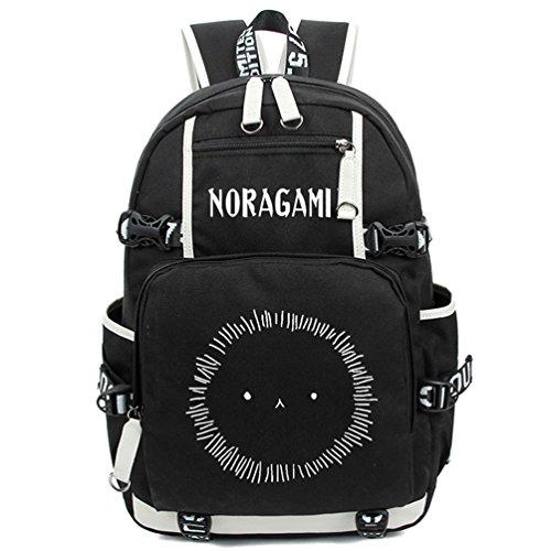 Yoyoshome, leuchtender Rucksack, Anime, Cosplay, Schule, Tasche schwarz Noragami