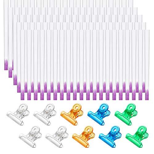 100 Pieces Fiberglass Nail Extension Kit...