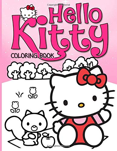 Hello Kitty Coloring Book: Wonderful Coloring Books For Adults Anxiety