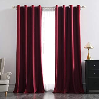Best velvet insulated curtains Reviews