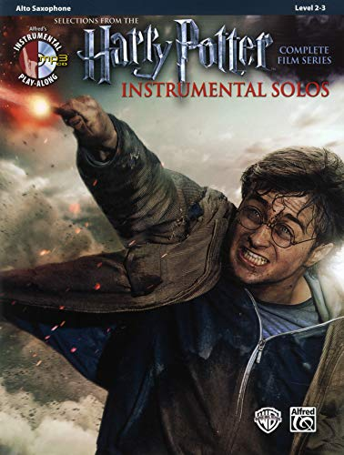 Harry Potter Instrumental Solos from the complete Film Series: Alto Sax (Book & CD) (Alfred\'s Instrumental Play-Along, Level 2-3)
