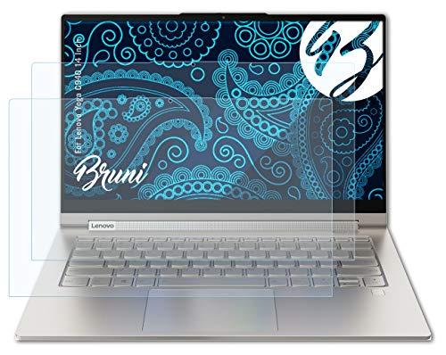 Bruni Schutzfolie kompatibel mit Lenovo Yoga C940 14 Inch Folie, glasklare Bildschirmschutzfolie (2X)
