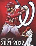 Calendar 2021-2022: Special Washington Nationals Calendar for Fans (2 Years 2021-2022)