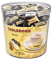 Véritable chocolat suisse traditionnel Au bon chocolat suisse, nougat, miel et aux amandes 3 variétés de délicieux Mini-Toblerone Idéal pour vos fêtes et facile à transporter