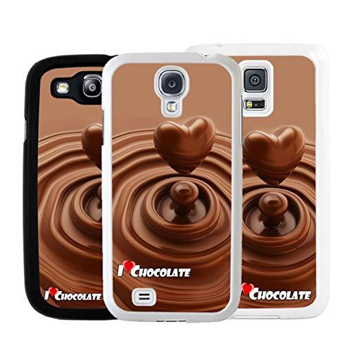 Geketto Store Cover Cuore Di Cioccolato Per Samsung, Samsung Galaxy S6, Nero