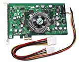 Red Planet W056C 128MB Full Height PCIe x1 Video Accelerator Card Compatible with Dell Nvidia PhysX Ageia. DDR3 Graphic Card Includes Molex Connector. Replaces Part Numbers: W056C 0W056C