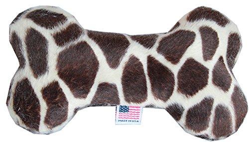 Mirage Pet Product 6' Plush Bone Dog Toy Giraffe