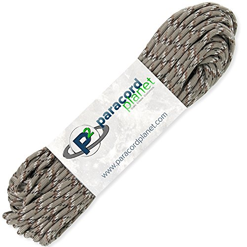 PARACORD PLANET 100#039 Hanks Parachute 550 Cord Type III 7 Strand Paracord Top 40 Most Popular Colors Desert Camo
