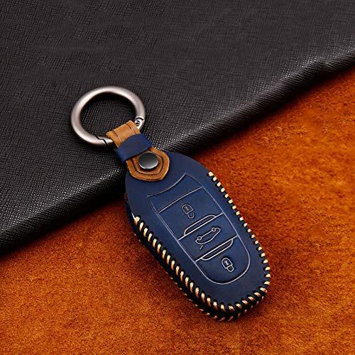 BHYUDYT Funda para llave de coche, para Peugeot 208 308 508 3008 5008