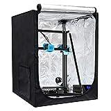 Creality 3D Printer Enclosure, Printer Covers Constant Temperature Soundproof Dustproof Heating Tent for 3D Printing Room for Ender 3 / Ender 3 Pro/Ender 3S / Ender 3v2 / CR 20 (18.9'x23.6'x 28.4')