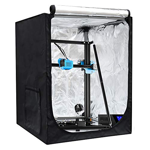 Creality 3D Printer Enclosure, 27.6'x29.5'x 35.4' Large Printer Tent Constant Temperature Soundproof Dustproof Heating Cover for Ender3/3pro/3v2/5/5 pro/5S,CR-10/10S/10 S4/10 V2/CR-X/CR-5/5S
