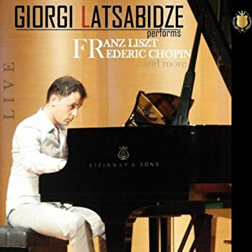 Giorgi Latsabidze Performs Frederic Chopin, Franz Liszt And More...