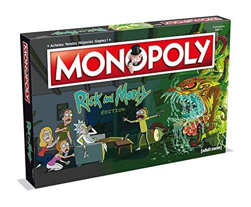 Winning Moves–Monopoly Rick y Morty, 0262, Version Francesa