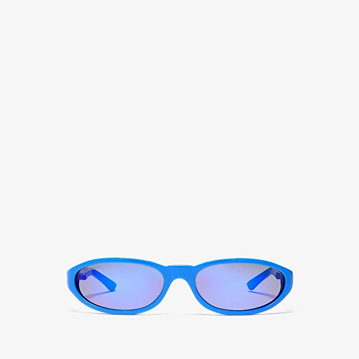Balenciaga  BB0007S (Blue) Fashion Sunglasses
