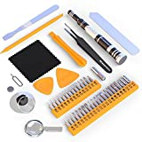 Tool Kit - Small Precision Screwdriver & Tools Set For Home, Electronics, iPhone, Computers, Macbook, PC, Laptop, Phone, PS4, Household Repair - Magnetic Bits & Basic Case