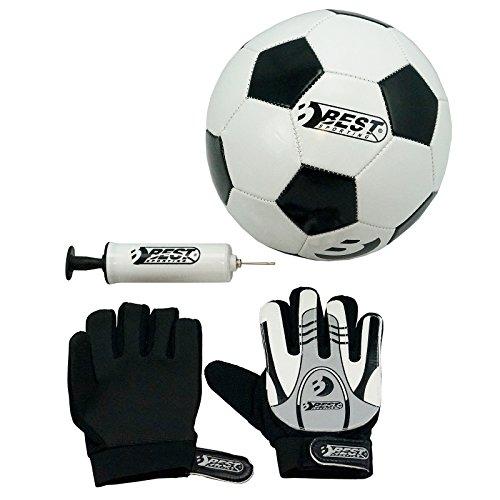 Best Sporting Set Fußball Torwarthandschuhe + Pumpe