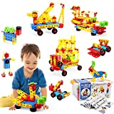 VATOS 316 PCS Stem Building Toys,Building Blocks Toys for Kids,Take Apart Toys,Preschool Educational...
