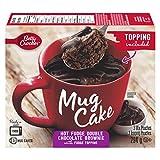 Betty Crocker Mug Cake Hot Fudge Double Chocolate Brownie With Fudge Topping, 294
