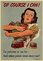 配給戦時食品錫サインヴィンテージ面白い生き物鉄の絵金属板人格ノベルティ