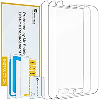 Mr.Shield Designed For Samsung Galaxy J1 Premium Clear Screen Protector [3-PACK] with Lifetime Replacement