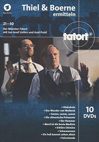 Tatort;(3)Thiel Und Boerne Ermitteln [10 DVDs]