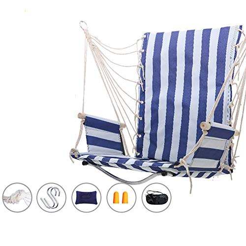 Vacation equipment Hammock - Outdoor Hanging Chair Swing College Dormitory Indoor Household Dormitory Hammock Chair Adult Cradle Child Swing, adult sleeping chair,Hanging Cotton Rope Swing Chair for R