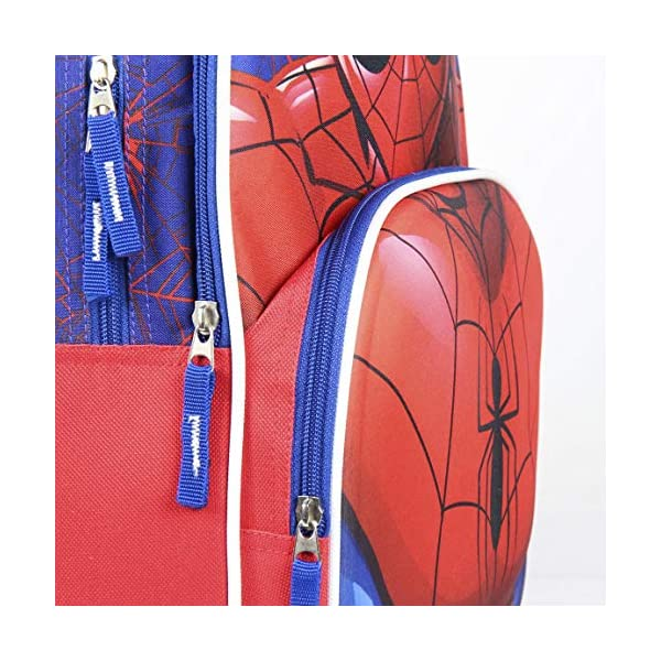 51ziWUfPhAL. SS600  - Mochila Escolar 3D Spiderman