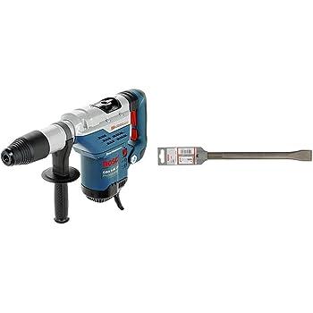 Bosch Profesional Martillo perforador GBH 5-40 DCE, maletín (potencia: 1150 W, energía de impacto: 8,8J) + Bosch 1 618 600 210 - Cincel plano SDS-max - 280 x 25 mm (pack de 1): Amazon.es: Bricolaje y herramientas