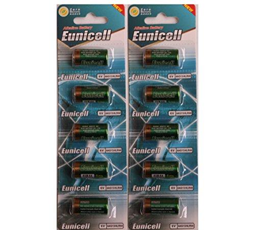 Eunicell - 10pilas alcalinas 4LR446V, PX28, 4G13, 476A, L1325