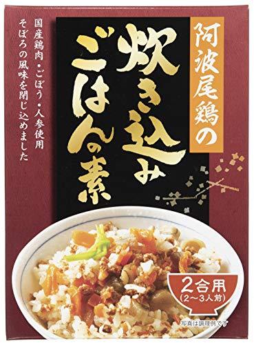 タケサン 阿波尾鶏の炊き込みごはんの素 210g